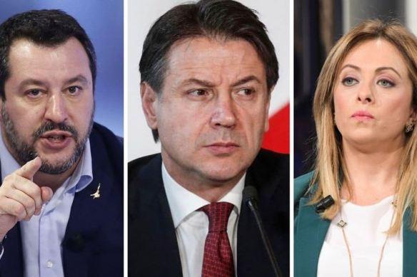 Matteo-Salvini,-Giuseppe-Conte-e-Giorgia-Meloni800x600